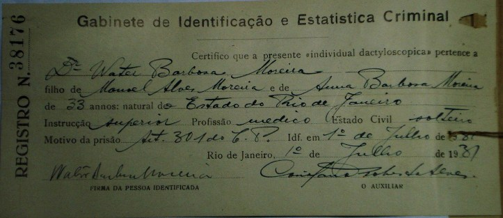 (Arquivo Nacional (AN) CS.0.PCR.5883 (1931))