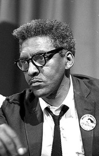 Bayard Rustin, 1963 (Library of Congress)