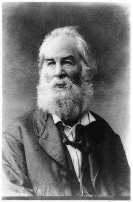 Walt Whitman portrait, ca. 1870. (Frank Pearsall/Library of Congress)