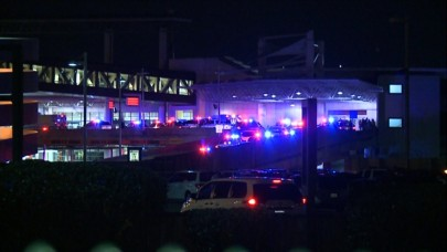Louisiana State Patrol responding to incident at Louis B. Armstrong Airport in New Orleans. (WGNO)