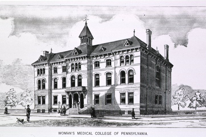 Woman's Medical College of Pennsylvania, 1875. (Images from the History of Medicine, NLM)