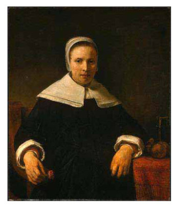 Painting of Anne Bradstreet (Poetry Foundation)