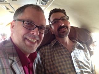 James Obergefell and John Arthur (James Obergefell/Washington Blade)