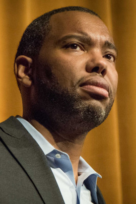 Ta-Nehisi Coates giving the keynote address at the University of Virginia's 2015 MLK Celebration. (Eduardo Montes-Bradley/Wikimedia | CC BY-SA)