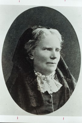 Portrait of Elizabeth Blackwell, ca. 1875-1885. (Courtesy of Schlesinger Library, Radcliffe Institute, Harvard University)