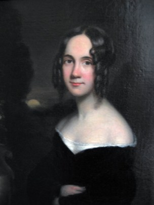 Portrait of Sarah J. Hale, by James Reid Lambdin (1807-1889). (Wikimedia)