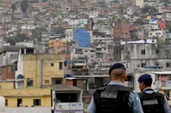 UPP in Rocinha. (Tânia Rêgo/Agência Brasil | CC BY BR)
