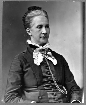 """Lawyer Belva Lockwood,"" c. 1880 and 1890. (US Library of Congress)"