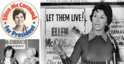 New York Grandmother Seeks Democratic Presidential Nomination! Ellen McCormack (1926-2011)