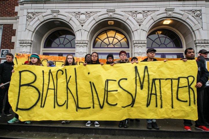 scottlum - Ferguson BLM protest in Seattle 2014 - Flickr - CC BY NC