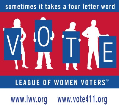 Leage of Women Voters - vote411 graphic