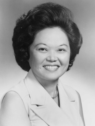 Patsy T. Mink's Congressional portrait, ca. 1965. (Photographer unknown/US Library of Congress)