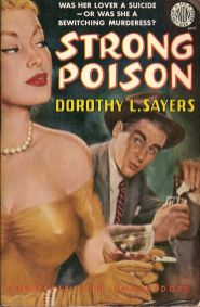 Dorothy L. Sayers, Strong Poison, book cover.