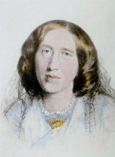 Portait of George Eliot by Frederick William Burton, 1864. (Wikimedia | Public domain)
