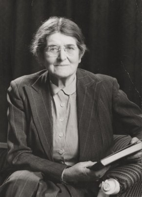 Helen Maud Cam, the first woman tenured at Harvard. (Schlesinger Library)