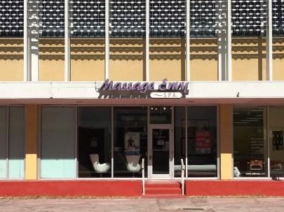 Store front of Massage Envy.