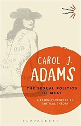 Book jacket features a drawing of a naked woman with the cuts of meat drawn on her body.