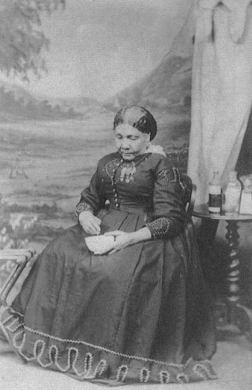 Only known photograph of Mary Seacole. (Wikimedia Commons)