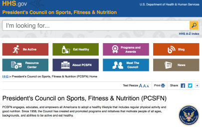 Change We Need? Why the Name of the President's Fitness Council Matters