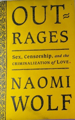 Book cover for Outrages by Naomi Wolf