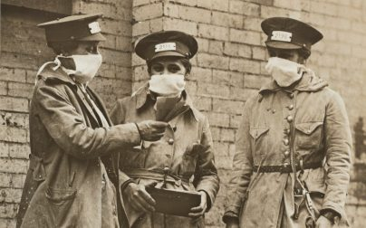 """All the World's a Harem"": Perceptions of Masked Women during the 1918–1919 Flu Pandemic"