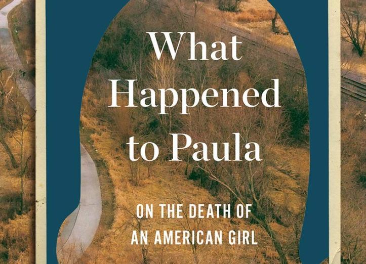 Cover art for the book What Happened to Paula, featuring a rural autumn scene.