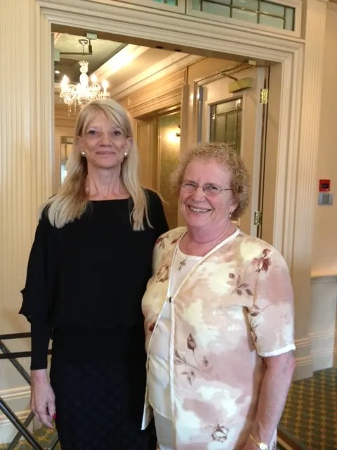 Dr. Joyce Fitzpatrick and Dr. Shirley Smoyak