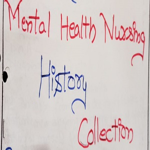 Mental Health Nursing History Collection