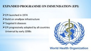 Goal of Expanded Program on Immunization (EPI)