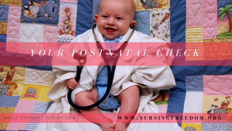 6 Weeks Old - Your Postnatal Check