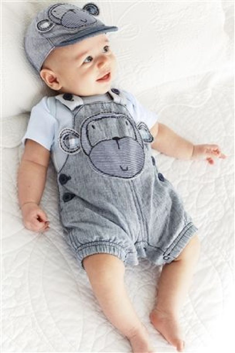 newborn baby boy - Boy coveralls