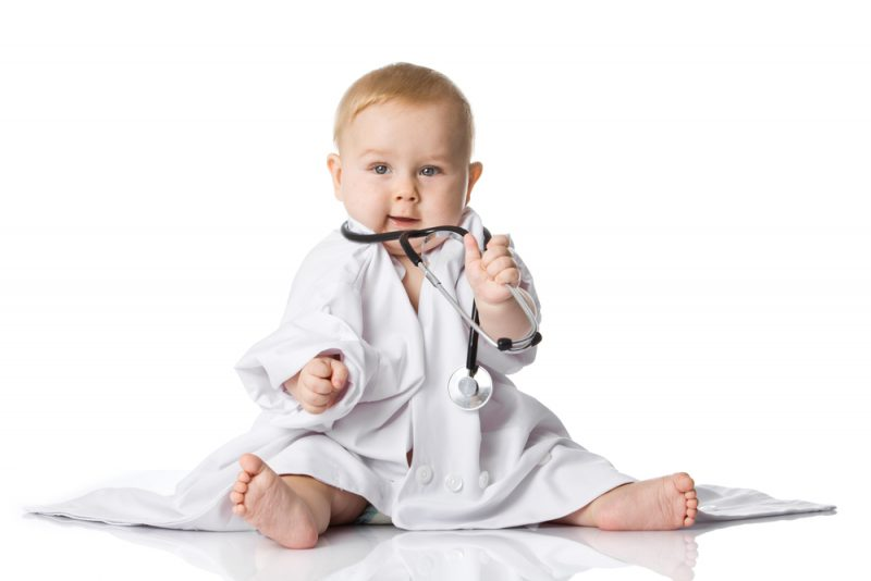 newborn baby boy - Baby Doctor Outfit