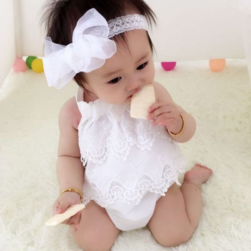Newborn Baby Girl Dresses - Summer Style Baby Girl Dresses