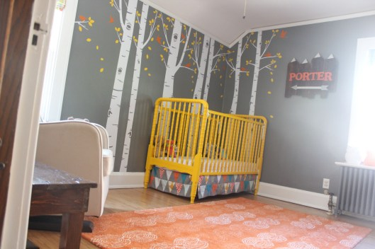 bright woodland nursery