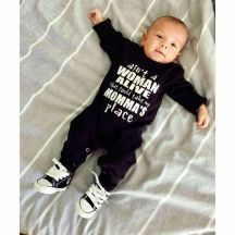 cool baby boy coverall