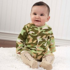 infant camouflage clothes