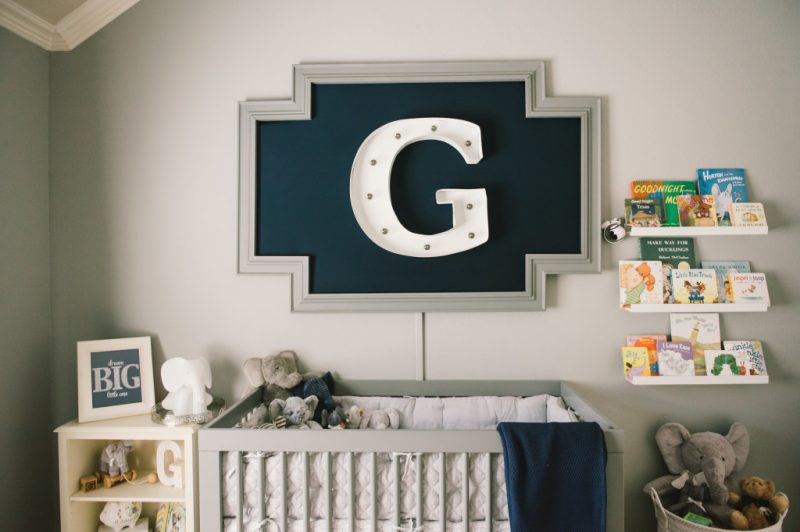 Baby Boy Nursery Ideas - Modern Nursery