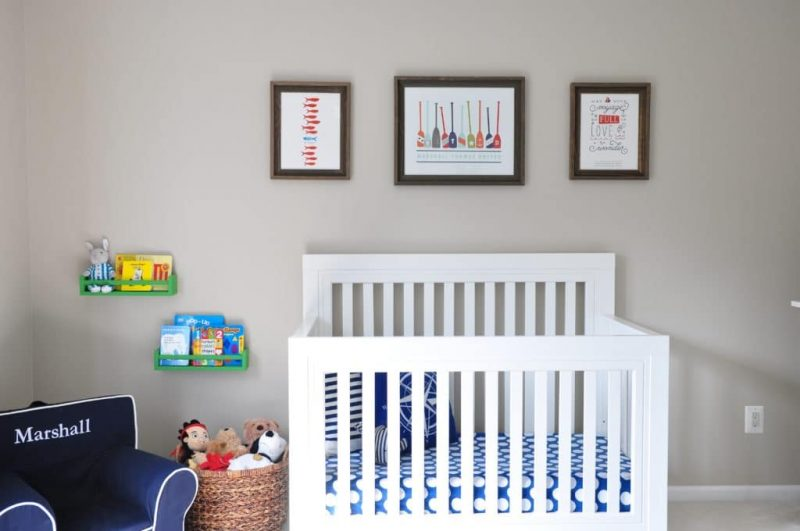 Baby Boy Nursery Ideas - Maritime Nursery