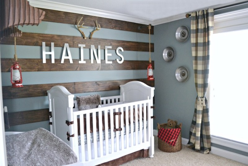 Baby Boy Nursery Ideas - Rustic Alaska Nursery