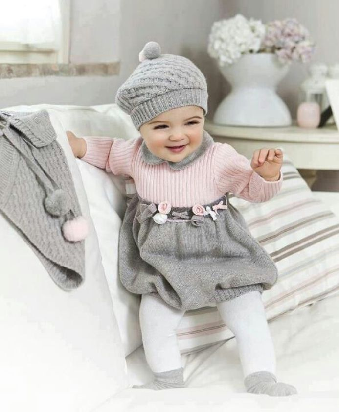 Newborn Baby Girl Dresses - Winter Style Baby Girl Dresses