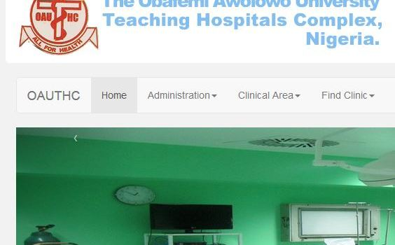 OAUTH School of Nursing Ile-Ife School fees for fresh Student Nurses 2018