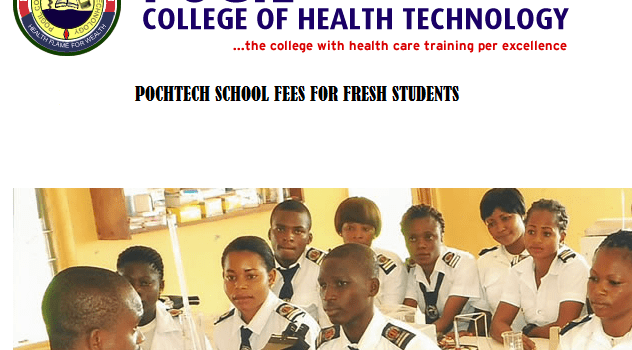 Pogil College of Health Technology School Fees For Fresh Students 2021/2022 Academic Session 7