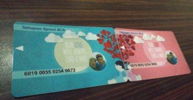 Romantisme Cinta Melalui Kartu ATM (illustrasi)
