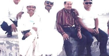 Bersama sahabat Arab dan mukimin Indonesia (foto: dok pribadi)