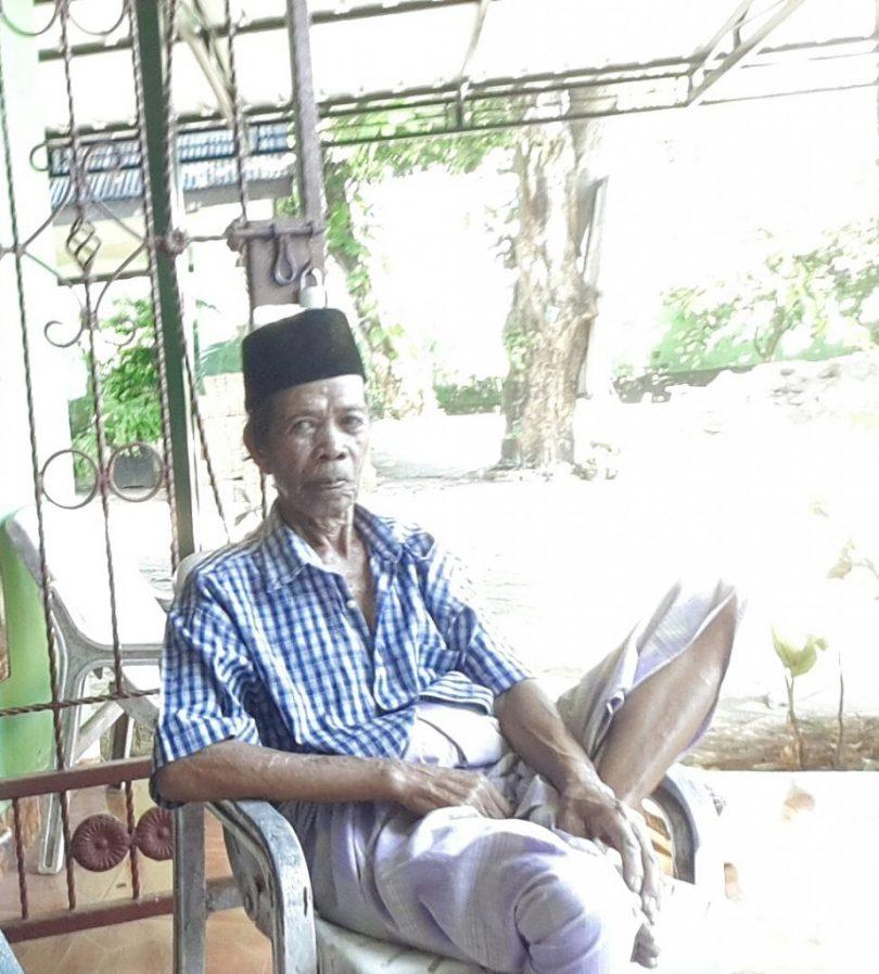 Daeng Sanre (foto Nur Terbit)