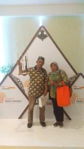 Narsis di acara Anugerah Pancawarna bagi pasar rakyat di Kementerian Perdagangan Jakarta (foto dok pribadi)
