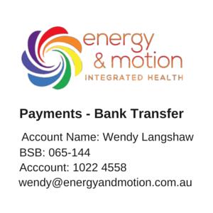 Bank Transfer Info E+M