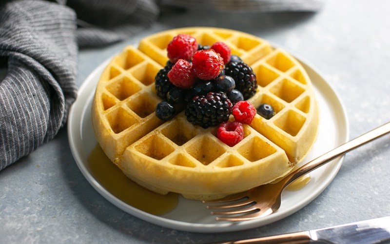 Best Gluten Free Waffles (Paleo)