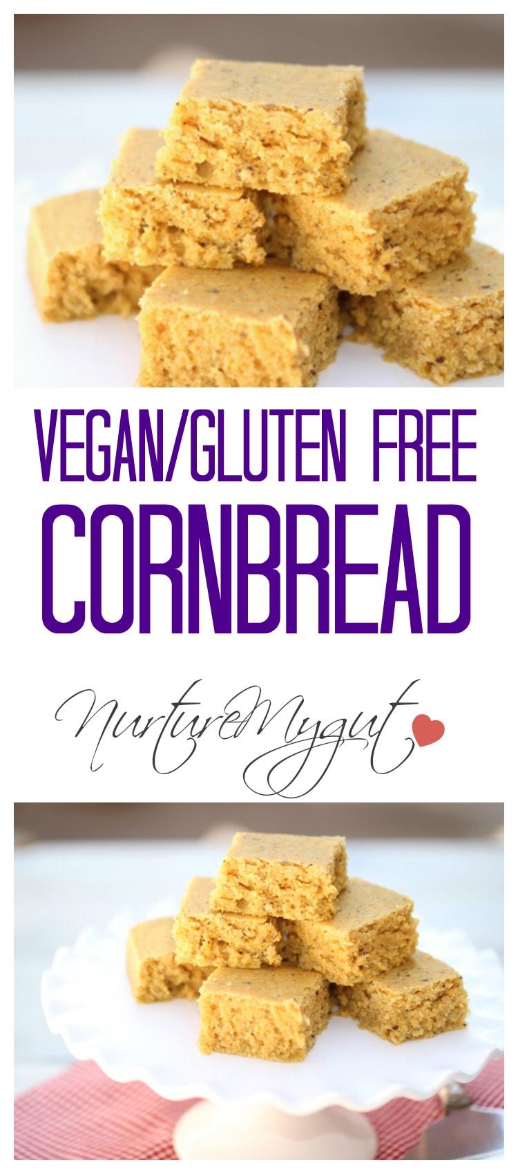 vegan gluten free cornbread