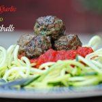 Easy Garlic Cilantro Meatballs